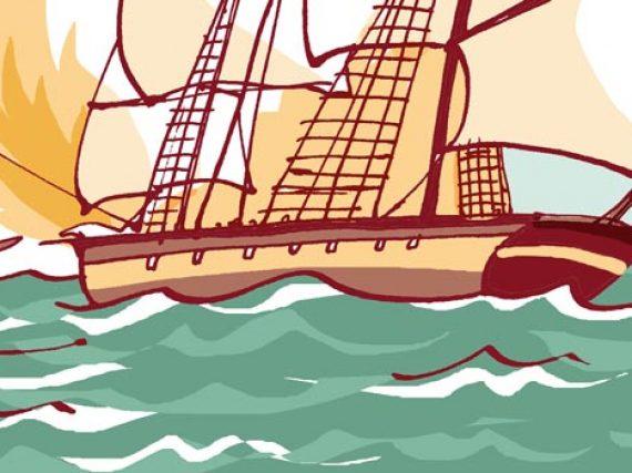 El duelo entre piratas de Ibiza