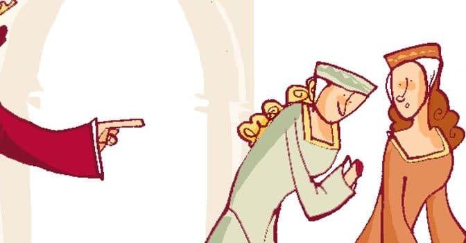 Tributo de las cien doncellas y el Apóstol