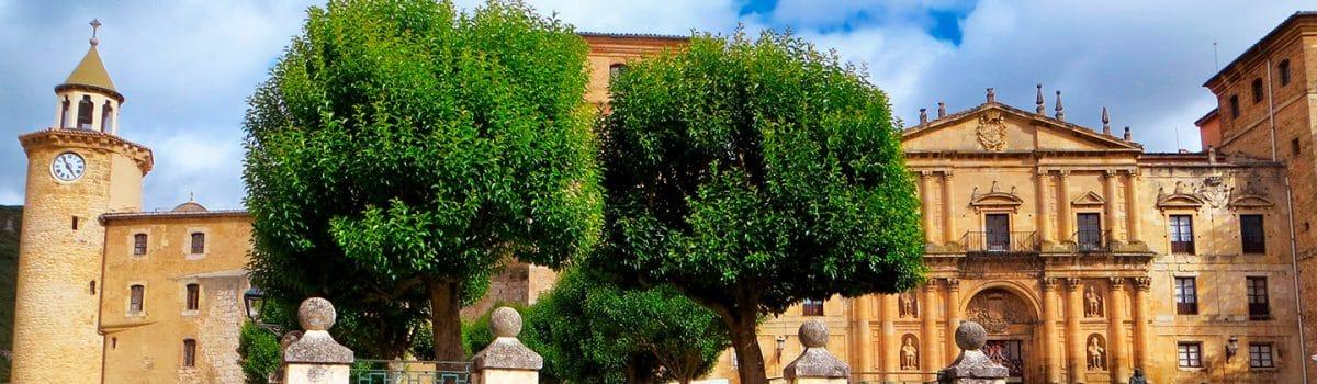 Panorámica de Oña, pueblo de Burgos