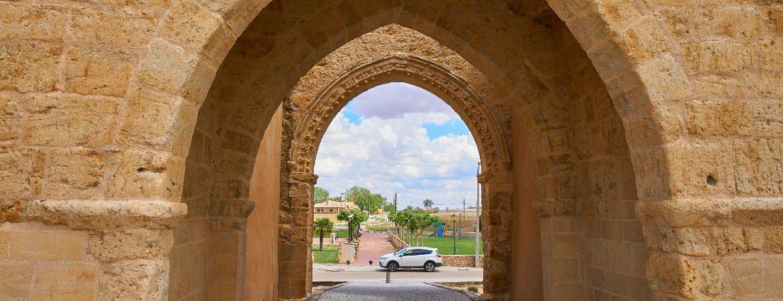 Panorámica del Arco de que ver en Villalpando