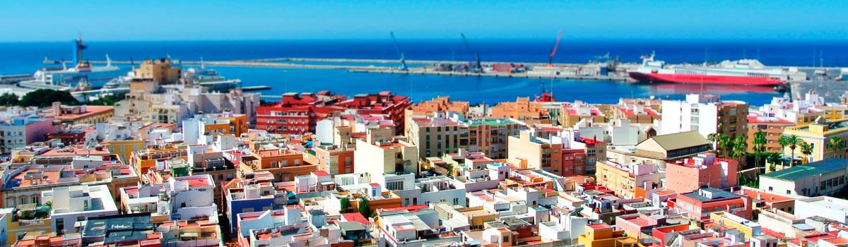 Panorámica que ver en Almería