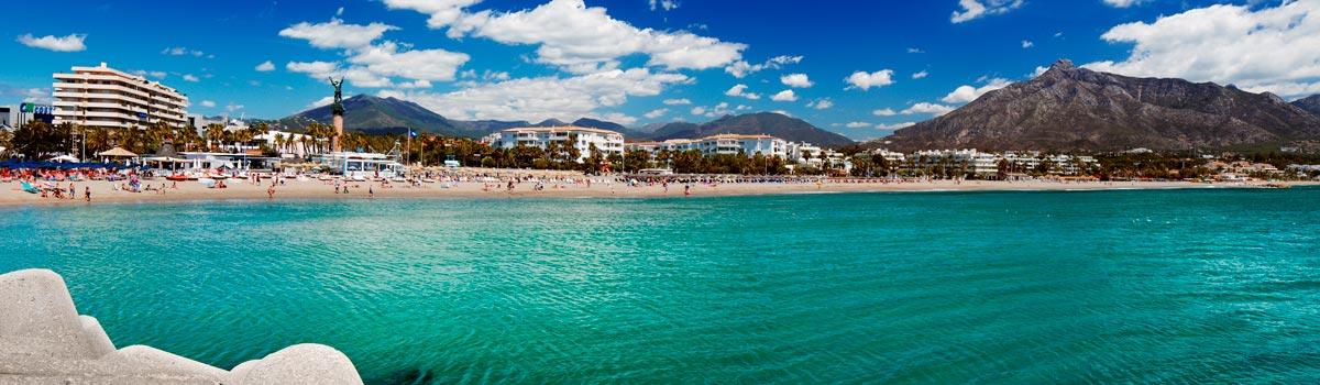 Panorámica que ver en Marbella