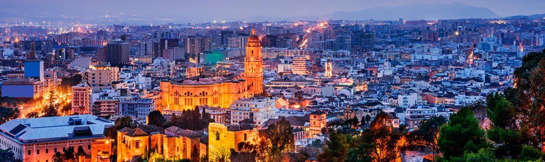 Panorámica que ver en Málaga
