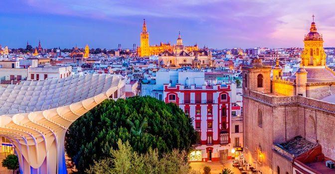 Centro de Sevilla y casco antiguo