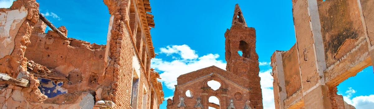 Panorámica que ver en Belchite