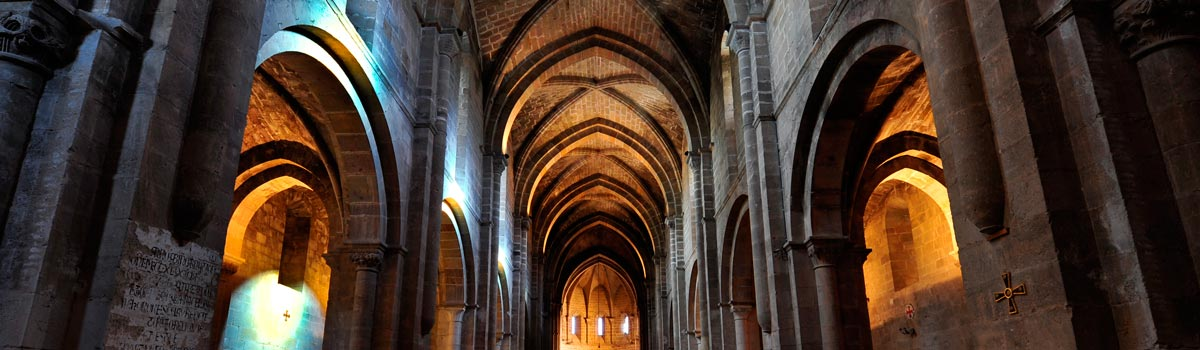 Panorámica que ver en el Monasterio de Veruela