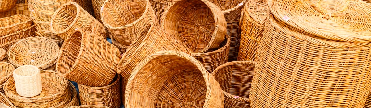 Cester a y fibras vegetales en madrid espa a fascinante for Artesanias de espana