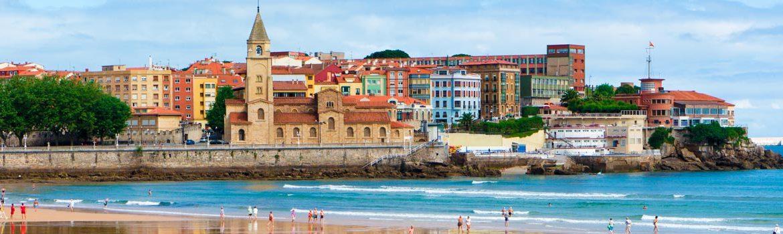 Panorámica que ver en Gijón