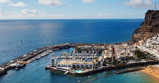 Dónde dormir en Puerto de Mogán, Playa de Taurito y Puerto Rico - Gran Canaria