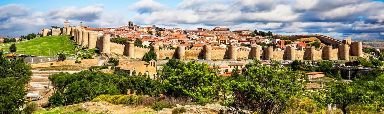 Panorámica que ver en Ávila