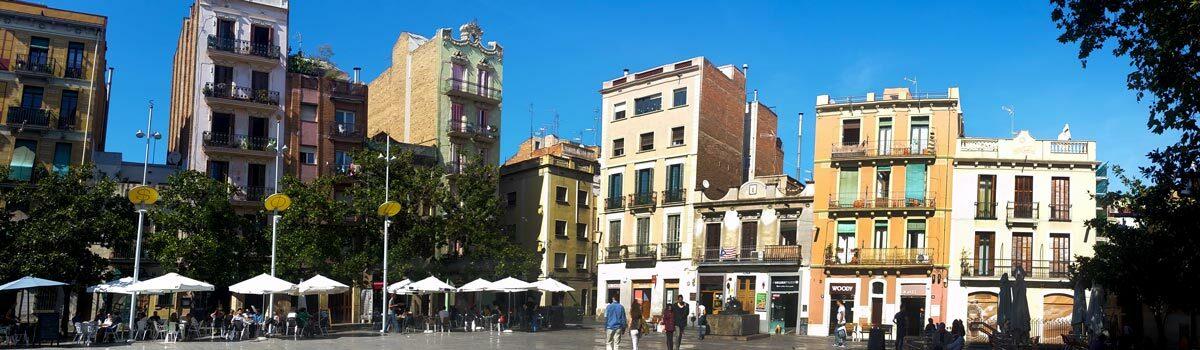 Le Quartier de Gracia à Barcelone
