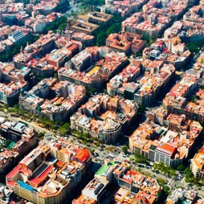 Le Quartier de L´Eixample à Barcelone