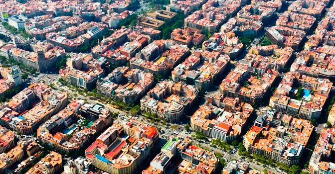Dormir en El Eixample - Barcelona