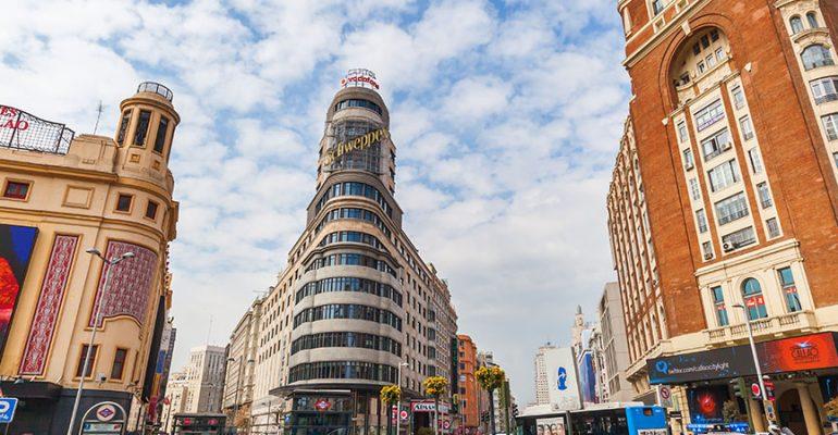 Dónde dormir en Gran Vía y Sol – Madrid