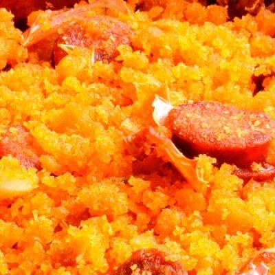 Un repas à Alcala del Jucar