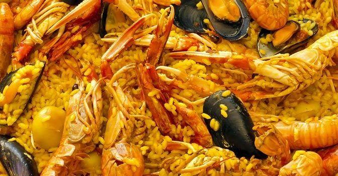 Un repas à Calella