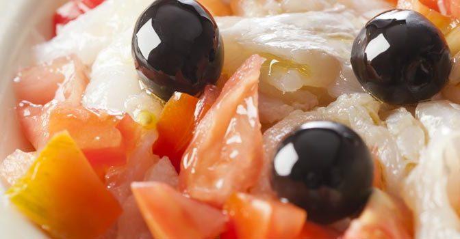Un repas à Pineda de Mar