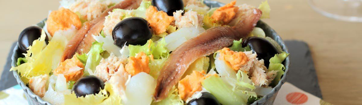 Un repas à Calafell et Cunit