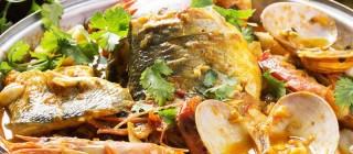 plato pescados