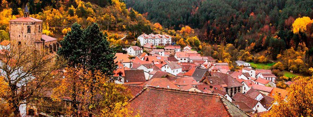 valle del roncal en otoño