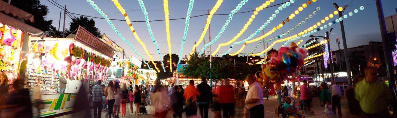 Feria real en Algeciras