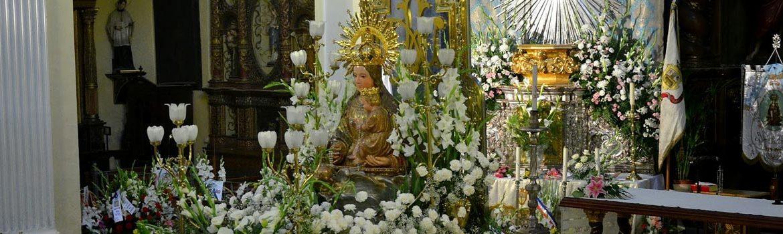 Virgen de la Peana