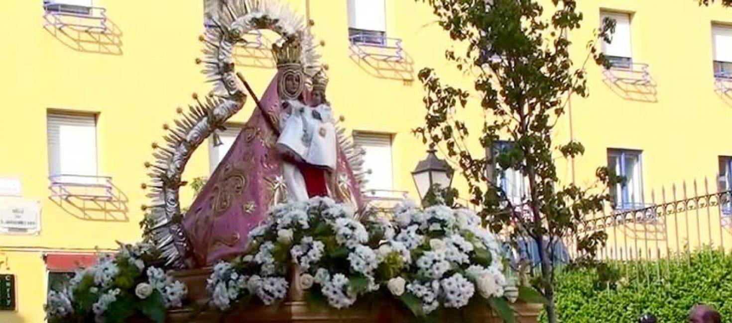 Saint Laurent d' El Escorial  / Fête et Procession de la Vierge de Grâce
