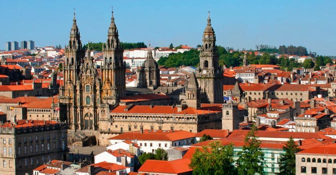 Dormir en Santiago de Compostela