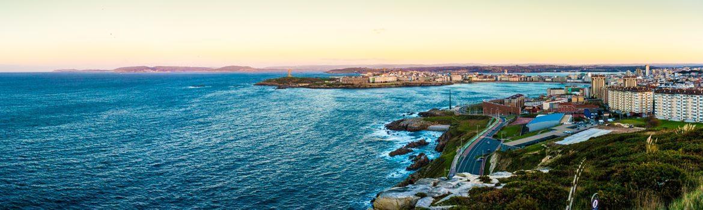 Panorámica de A Coruña capital