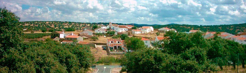 Panorámica que ver en Granja de Torrehermosa y dónde dormir en Granja de Torrehermosa