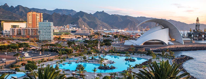 Panorámica que ver en Santa Cruz de Tenerife