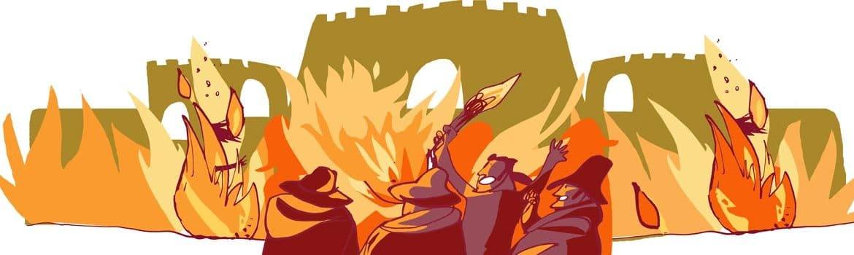 quema medina campo