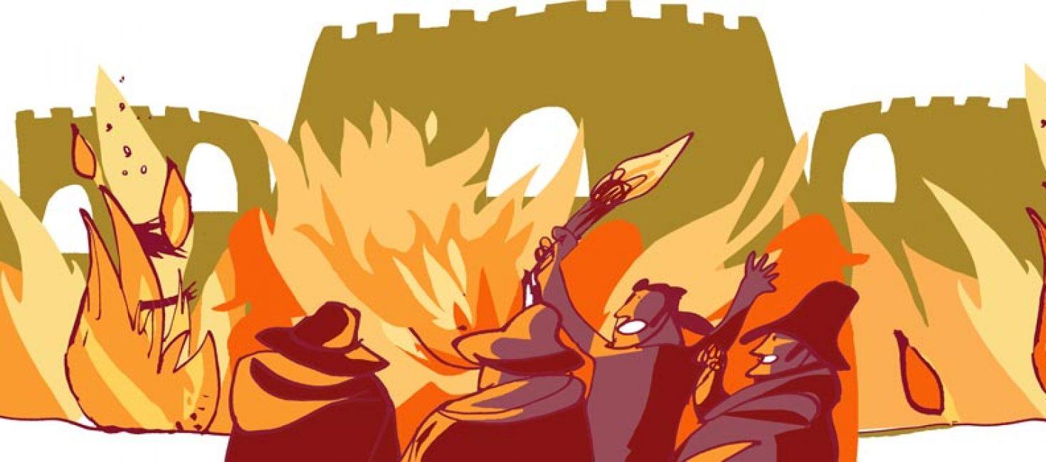 Quema de Medina del Campo y Guerra de las Comunidades