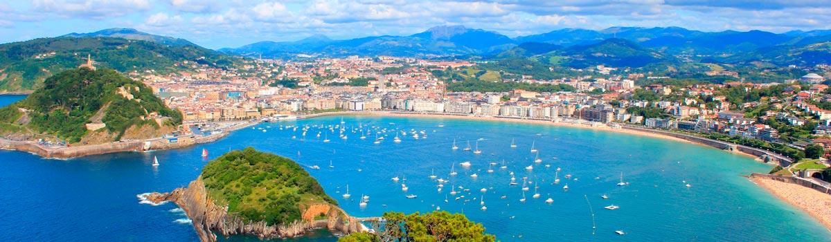 Panorámica que ver en San Sebastián o Donostia