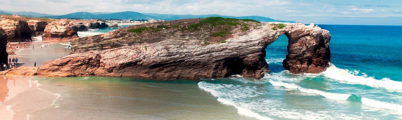 Monumento natural de la Playa de las Catedrales España Fascinante