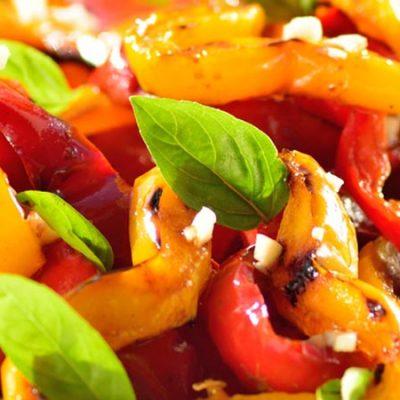 Roasted Pepper Salad Recipe