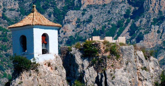 Dónde dormir en Guadalest - El Castell de Guadalest
