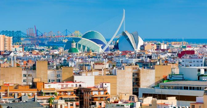 Dónde dormir en Valencia - València