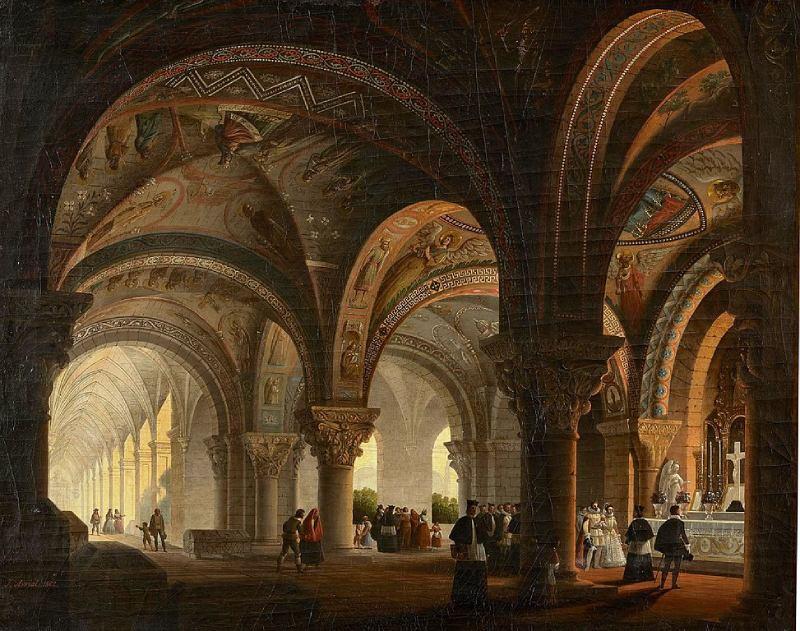 Panteón de los reyes de León de José María Avrial