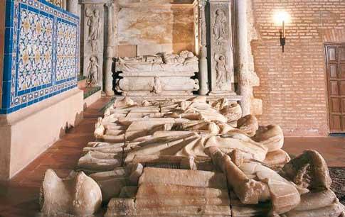 panteon monasterio santa clara en Moguer
