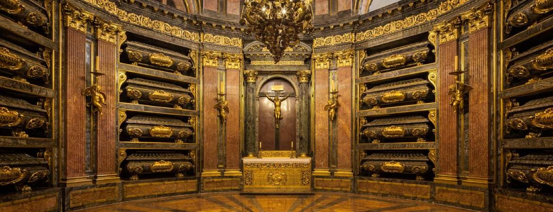 Panteón Real en el monasterio de San Lorenzo de El Escorial