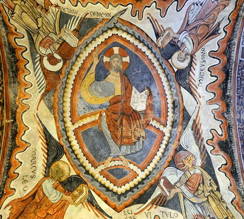 Pantocrátor del Panteón de los reyes de León