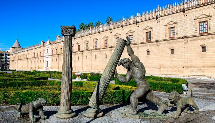 parlamento andalucia Sevilla museos gratis