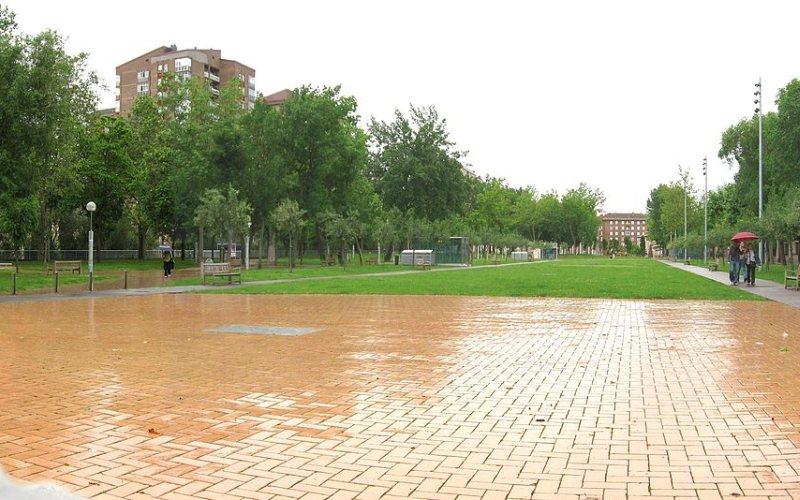 Parque del Polvorín Viejo en Judimendi