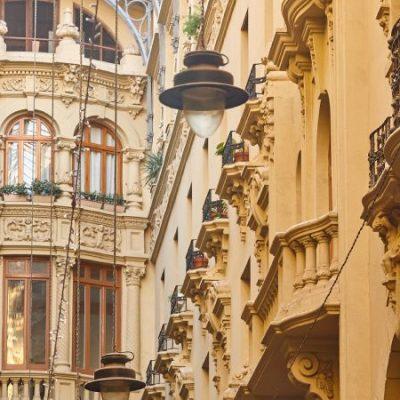 El Pasaje de Lodares, una galería modernista de estilo italiano en Albacete
