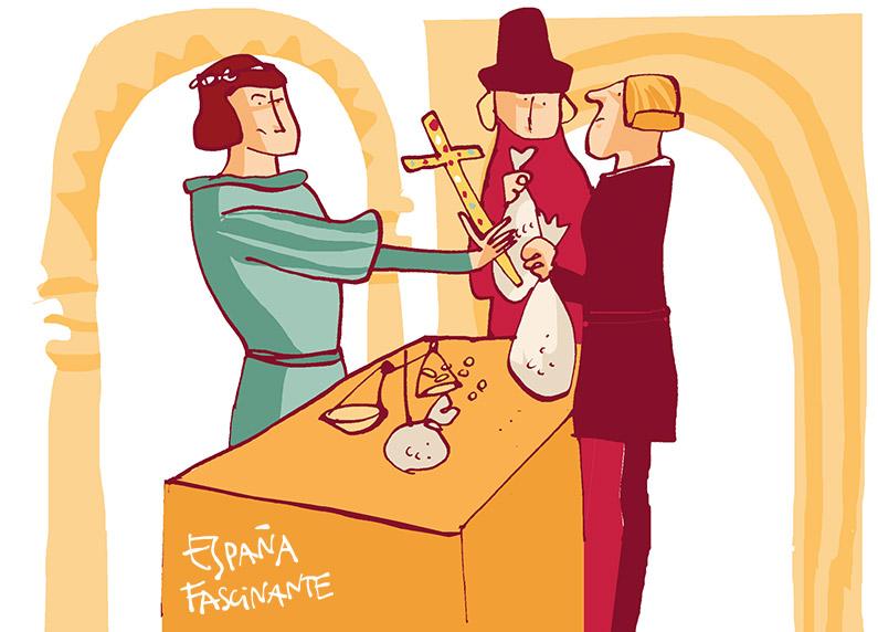El paso de armas de Gaston IV de Foix en Barcelona