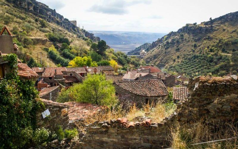 Patones pueblos más bonitos de la sierra de Madrid