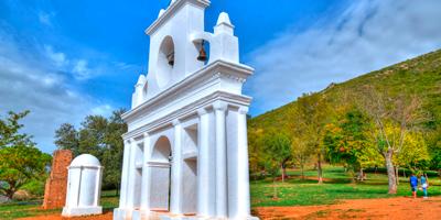 Monumento Pena de Arias Montano en Alájar