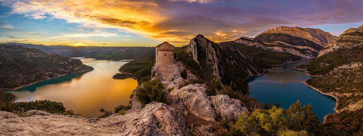 El Congost de Mont-Rebei, un desfiladero vertiginoso entre Huesca y Lleida | España Fascinante