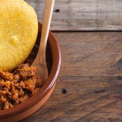Picadillo de chorizo o adobu asturiano, receta tradicional del norte
